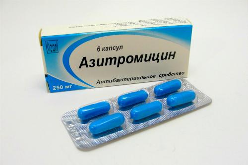 Фото:Лечение аднексита Азитромицином