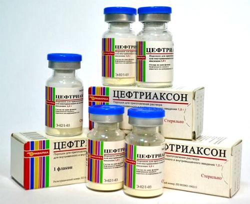 Фото:Лечение аднексита Цефтриаксоном